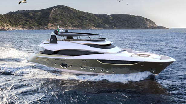 MCY 105 superyacht