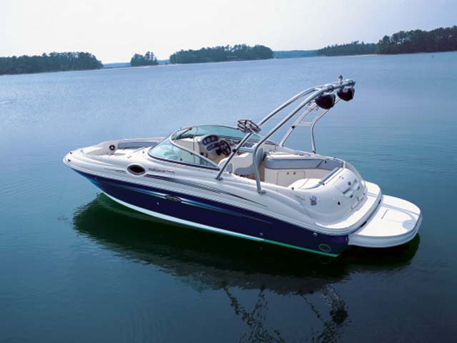 Sea Ray 240 Sundeck цена