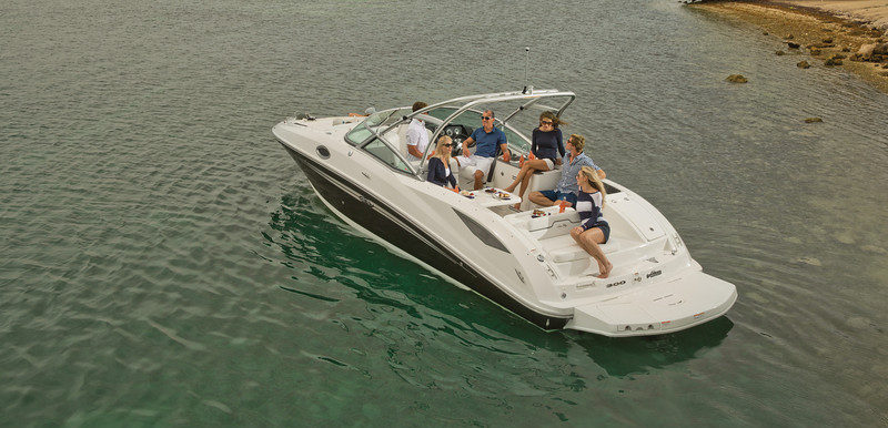 Sea Ray 300 Sundeck цена